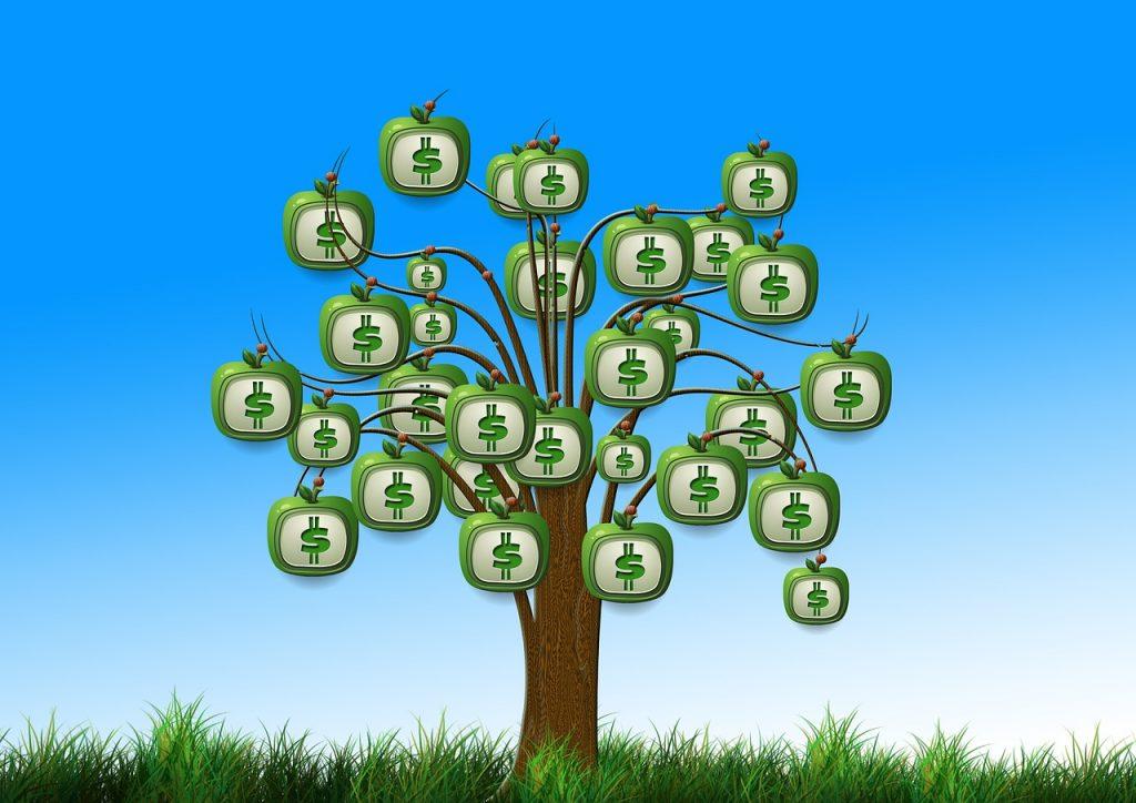 כסף גדל על עצים