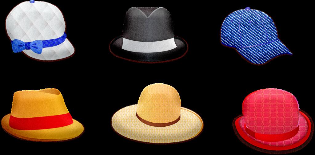 שישה כובעים