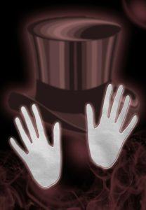 כובע וכפפות של קוסם